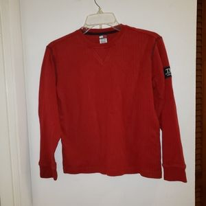 Tommy Hilfiger Red Small Sweater Long Sleeve